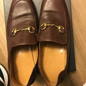Gucci heritage brown loafer, US 8.5, IT 8, EURO 42
